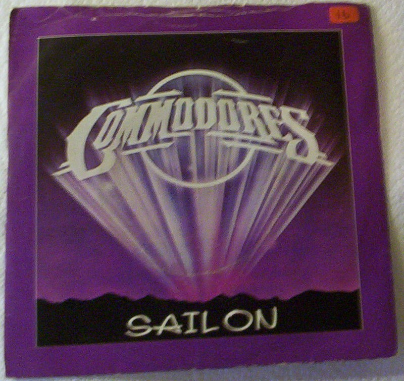 Commodores - Sail On - B Side: Captain Quick Draw