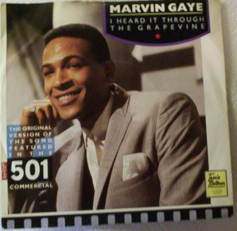 Gaye, Marvin - I Heard It Through The Grapevine - B Side: Can I Get A Witness