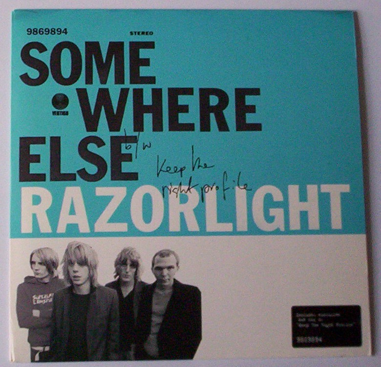 Razorlight - Somewhere Else - B Side: Dub Me Right Profile